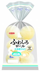 ふわしろロール 北海道ミルク 6個入
